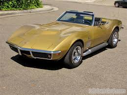 1969 corvette for sale 1969 chevrolet corvette for sale w 41k
