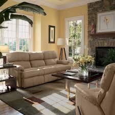 tan living room walls lounge chair classic furniture design cream