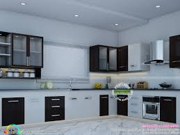 Home Design Interior Kerala Kitchen Interior Works At Trivandrum Kerala Home Design And Idolza