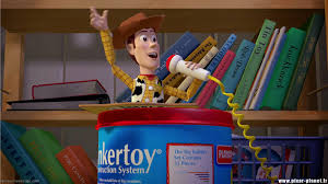 disney opens toy box toy story manic expression