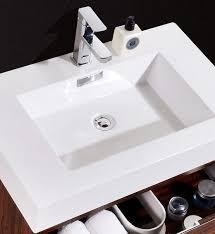 designer bathroom vanity bliss 30 walnut wall mount modern bathroom vanity