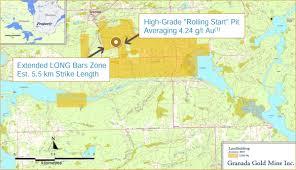 Property Maps Maps Granada Gold Mine Inc
