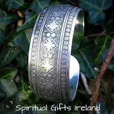 silver cuff bangle bracelet images Gypsy bohemian style silver cuff bangle bracelet spiritual gifts jpg