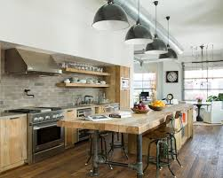 industrial style kitchens home interior design
