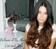 lilly hair extensions bellami hair extensions tutorial lilly hair how to cut and