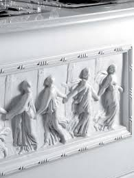 Neff Kitchen Cabinets Set For The Kitchen With Carvings And Bas Reliefs In The Polish