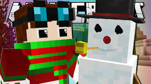 Dantdm Maps Minecraft Wanna Build A Snowman Frosty Custom Map Youtube