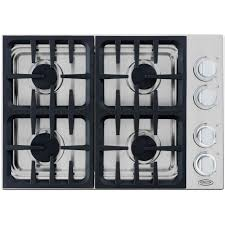 Cooktops Gas 30 Inch Amazon Com Dcs Cdu304l 30 Gas Cooktop With 4 Sealed Dual Flow