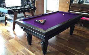 purple felt pool table best playing tables for amazing gaming rooms bestplayingtables