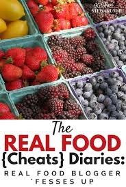 the real food cheats diaries