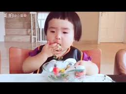 Baby Eating Sand Meme - baby super eating machine chinese xiaoman小蛮 and vegetable