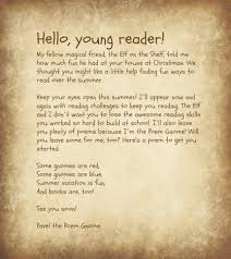 poem gnome welcome letter life as a field trip