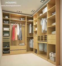 bedroom furniture luxury walk in closet ideas with wood material