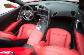 corvette stingray interior which of these is the real red interior