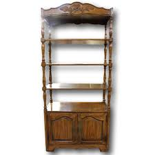 Narrow Mahogany Bookcase by New U0026 Used Bookcases U0026 Etageres Upscale Consignment
