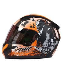 thh motocross helmet thh vampire full face helmet orange m buy thh vampire full