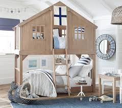 Tree House TwinoverTwin Bunk Bed Pottery Barn Kids - Pottery barn kids bunk bed