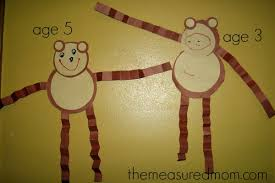 Paper Plate Monkey Craft - letter m crafts for preschoolers the measured