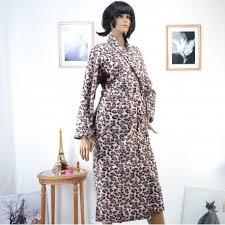 robe de chambre leopard robe de chambre leopard polaire luxe peignoir leo zaza2cats zaza2cats