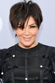 kris jenner diamond earrings kris jenner haircut back view hair