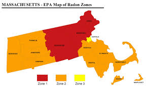 Radon Zone Map Five Things To Know About Radon News Woburn Advocate Woburn Ma