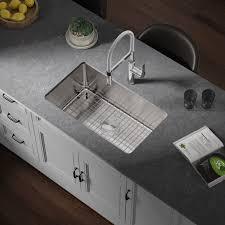 what size undermount sink fits in 30 inch cabinet allora usa ksn 3018 r25 30 x 18 x 9 undermount single