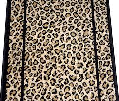 amazon com dean cheetah carpet rug hallway stair runner custom