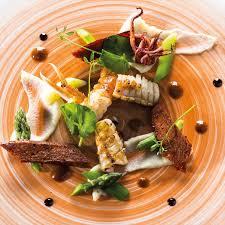 recette cuisine gastro langoustine encornet chorizo vinaigrette de crustacés par éric