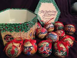 Jim Shore Christmas Ornaments 12 Days by 12 Days Ornaments Collection On Ebay
