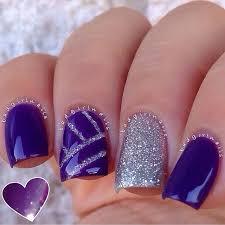 purple nail design best 20 purple nail designs ideas on