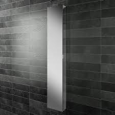 Black Mirror Bathroom Cabinet Hib Eris 30 Single Door Mirrored Cabinet