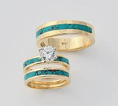 turquoise wedding rings turquoise wedding engagement rings