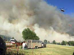 Wild Fire Near Billings Mt by Drone Shuts Down Air Operation For Fritz Fire Zero Percent