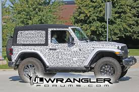 jeep wrangler 2 door sport spied wrangler 2 door jl rubicon top and export jl sport
