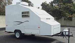 ultra light toy hauler dealer of funpak ultra light travel trailers by west coast trailer