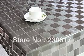 dining table cover clear dining table clear plastic cover silver color tc152 009 transparent