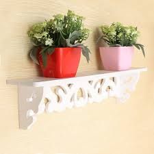 aliexpress com buy 1pc lot white wall hanging shelf goods