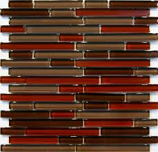 Glass Tile For Kitchen Backsplash 10sf Natural Red Glass Mosaic Tile Kitchen Backsplash Wall