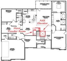 home plans with elevators how to customize a floor plan custom home design