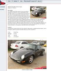 salvage title for sale my crashed 993 96 for sale as no salvage title rennlist