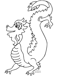 chinese new year dragon clipart black and white clipartsgram com