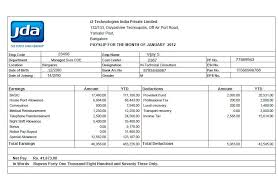 resume format 2013 sle philippines payslip 7 payslip templates excel pdf formats
