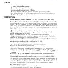 Quality Assurance Analyst Resume Sle by Quality Assurance Lead Resume Quality Cover Letter Lead