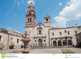Morelia Mexico Map by Church Of St Augustine Morelia Mexico Stock Images Image