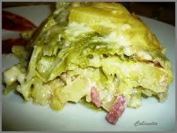 cuisiner du chou vert chou vert pomme de terre fromage a raclette ou chouflette les