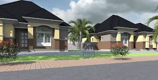 Contemporary Bungalows Contemporary Nigerian Residential Architecture Luxury 3 Bedroom