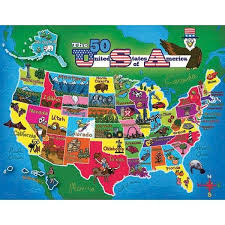 map usa jigsaw us state map jigsaw puzzle map of the usa jigsaw puzzle mr