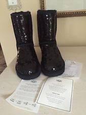 deckers ugg australia sale black sparkle uggs boots ebay