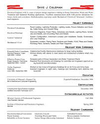 Environmental Engineer Resume Entry Level Engineering Resume Or The Exact Resume That Landed Me