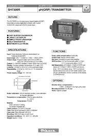 sh7300r ph orp transmitter ohkura electric pdf catalogue